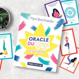 Oracle du Yoga et des Chakras de Marie-Rose Poujardieu